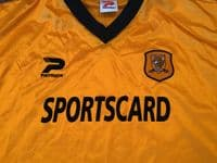 Global Classic Football Shirts   2001 Hull City Vintage Old Soccer Jerseys
